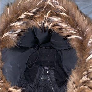 Winter coat mackage brand